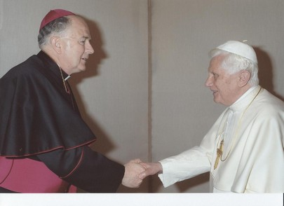bishop leo and pope benedict xvi